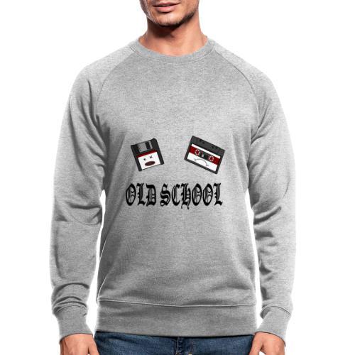 Old School Design - Männer Bio-Sweatshirt