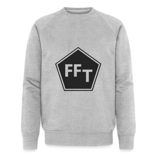 FFT B&W logo - Men's Organic Sweatshirt by Stanley & Stella