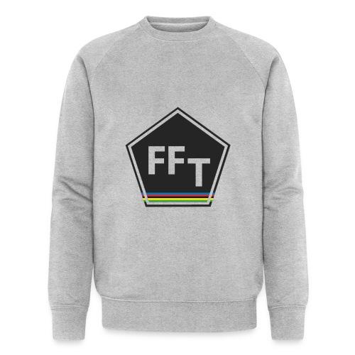 FFT logo colour (Fastfitnesstips) - Men's Organic Sweatshirt by Stanley & Stella
