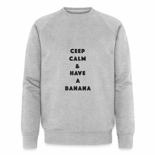 Ceep calm - Økologisk sweatshirt for menn fra Stanley & Stella