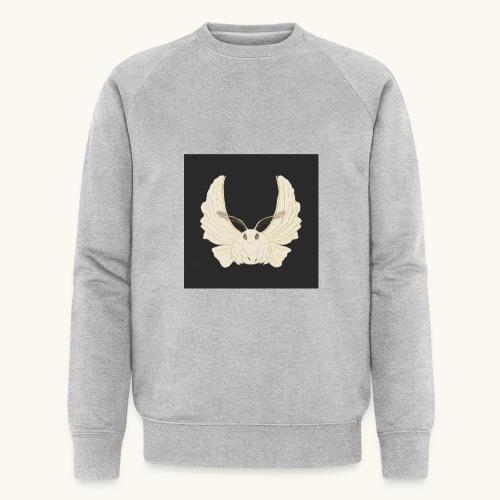 Papillon de nuit fond noir - Sweat-shirt bio Stanley & Stella Homme