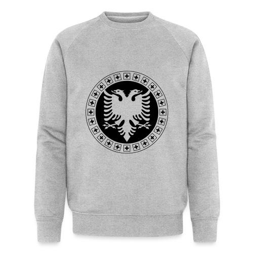 Albanien Schweiz Shirt - Männer Bio-Sweatshirt von Stanley & Stella