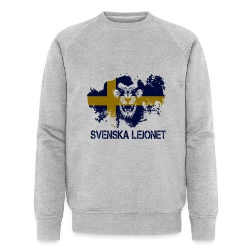 Svenska Lejonet Official Chest Logo - Ekologisk sweatshirt herr från Stanley & Stella