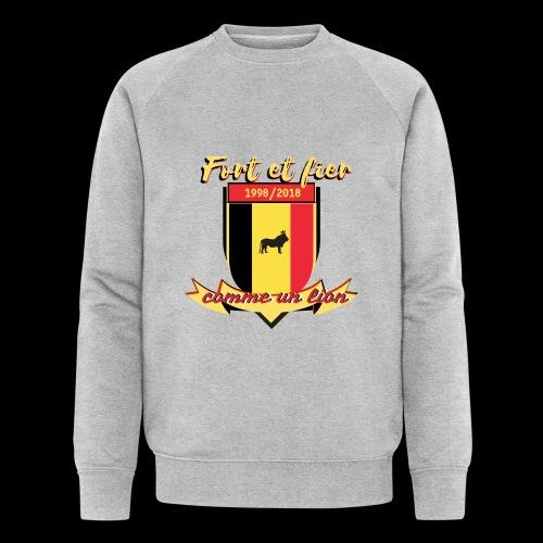 belgique foot coupe du monde - Sweat-shirt bio Stanley & Stella Homme
