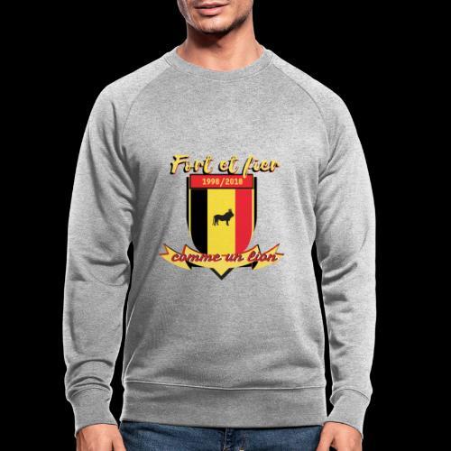 belgique foot coupe du monde - Sweat-shirt bio