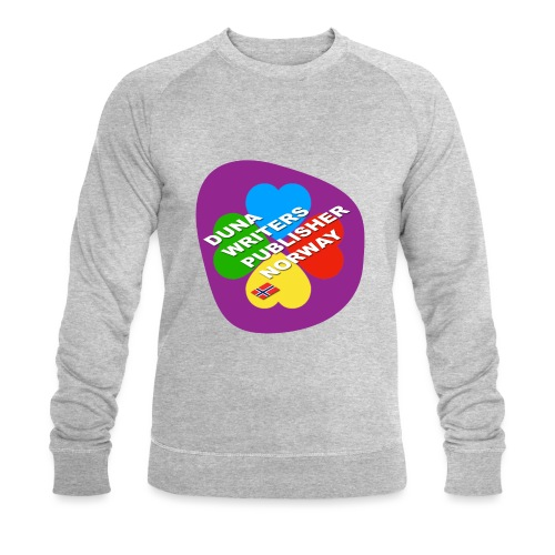 Duna Writers - Økologisk sweatshirt for menn