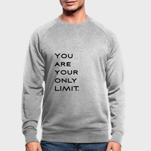 Limit Black - Männer Bio-Sweatshirt