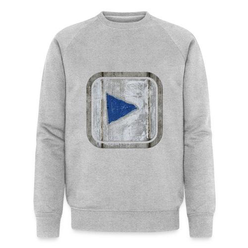 hier entlang ! - Männer Bio-Sweatshirt von Stanley & Stella