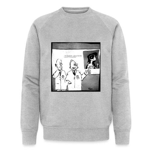 Peabrain - Økologisk sweatshirt til herrer