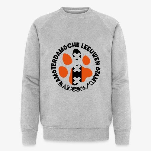 ALS witte rand licht - Mannen bio sweatshirt van Stanley & Stella