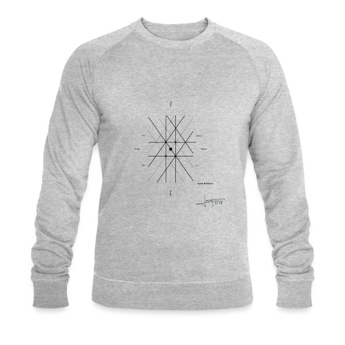 mathematique du centre_de_lunivers - Sweat-shirt bio Stanley & Stella Homme