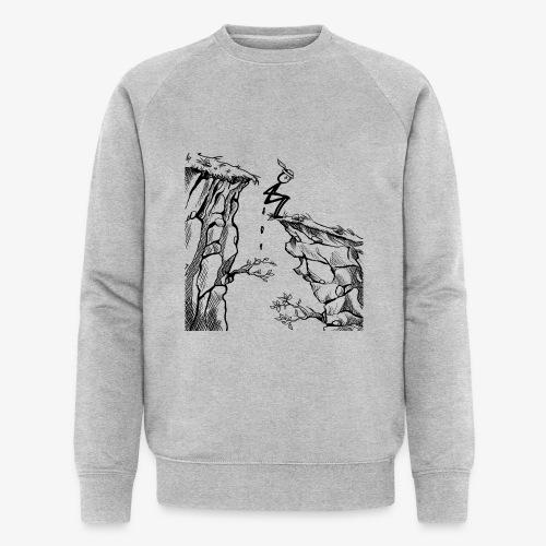 Schluchtenscheisser - Männer Bio-Sweatshirt