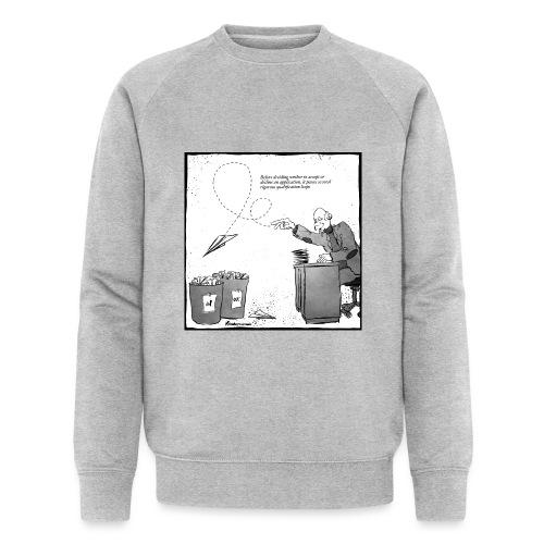 Qualification loop - Økologisk sweatshirt til herrer