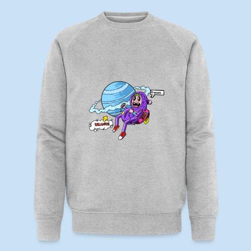 Prepare Uranus - Männer Bio-Sweatshirt