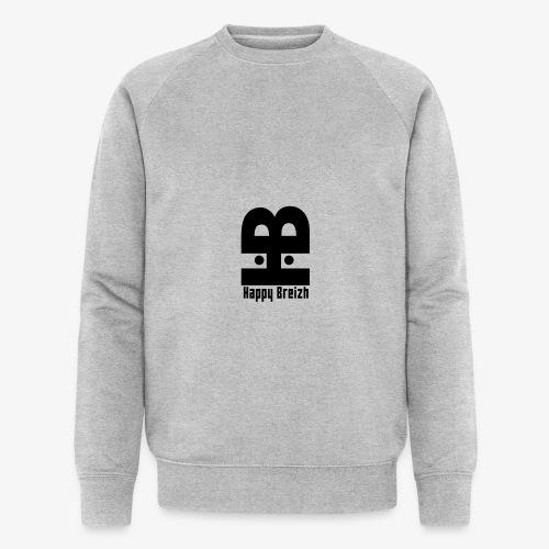 happy breizh logo - Sweat-shirt bio Stanley & Stella Homme