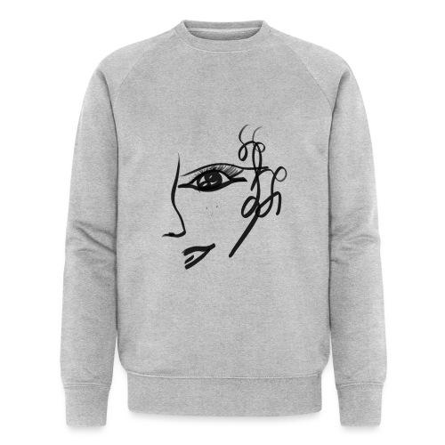 Gesicht - Männer Bio-Sweatshirt von Stanley & Stella