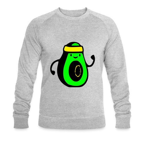aguacate ninja - Sudadera ecológica hombre