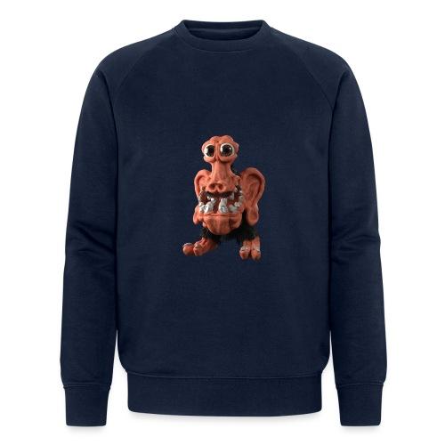 Very positive monster - Men's Organic Sweatshirt by Stanley & Stella