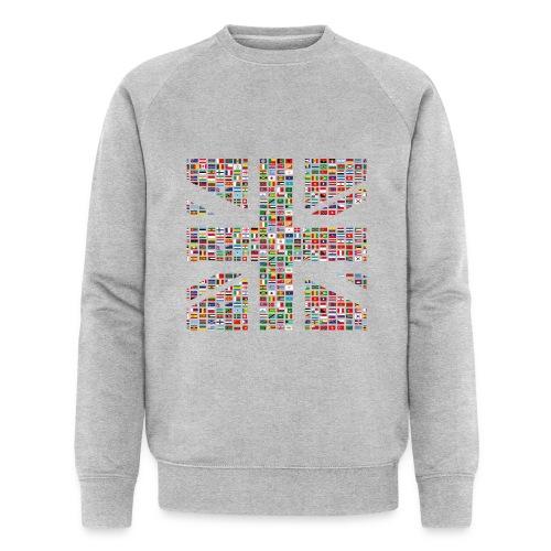 The Union Hack - Men's Organic Sweatshirt by Stanley & Stella