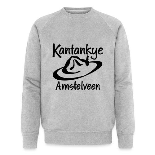 logo naam hoed amstelveen - Mannen bio sweatshirt van Stanley & Stella
