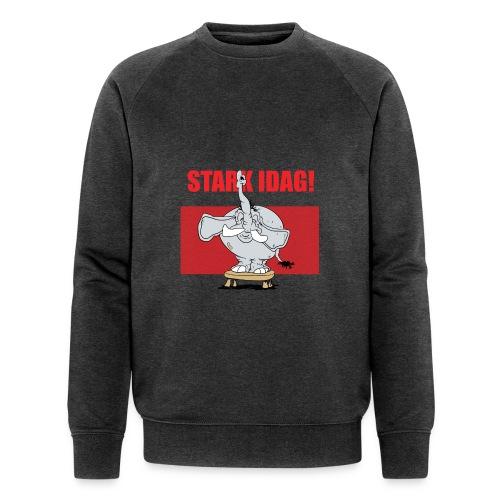 Stark idag - Ekologisk sweatshirt herr från Stanley & Stella