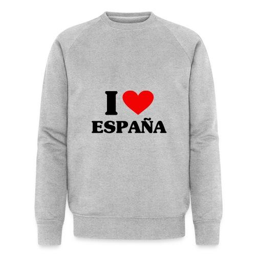 I love Espana - Männer Bio-Sweatshirt