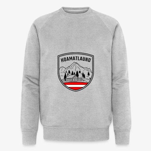 hoamatlaund österreich - Männer Bio-Sweatshirt von Stanley & Stella