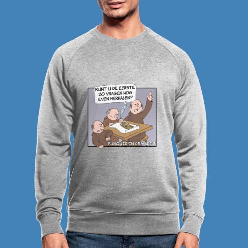 Pubquiz in de Abdij - Mannen bio sweatshirt
