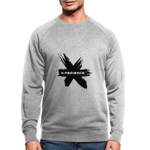 x-perience - Das neue Logo - Männer Bio-Sweatshirt