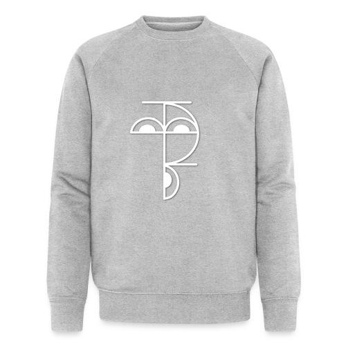 XP Logo retro weiss - Männer Bio-Sweatshirt von Stanley & Stella