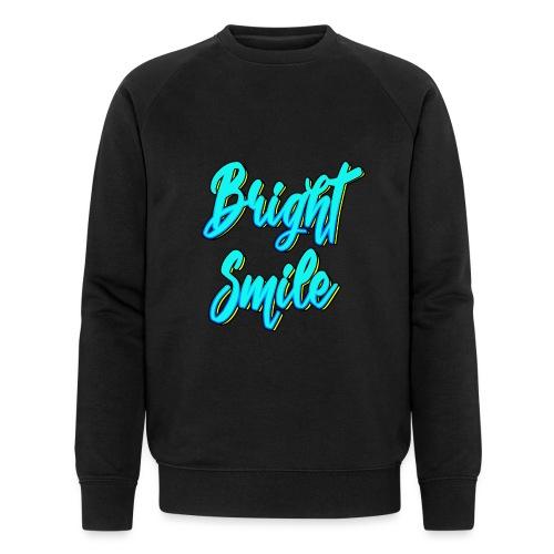 Bright smile bleu fluo - Sweat-shirt bio Stanley & Stella Homme