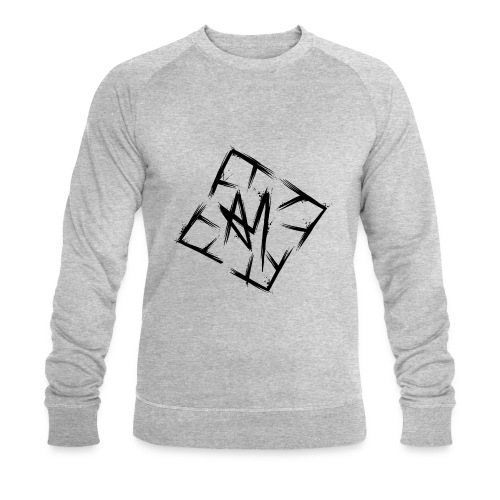 Across Yourself - Logo black transparent - Men's Organic Sweatshirt