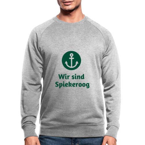 Wir sind Spiekeroog Freunde Sortiment - Männer Bio-Sweatshirt