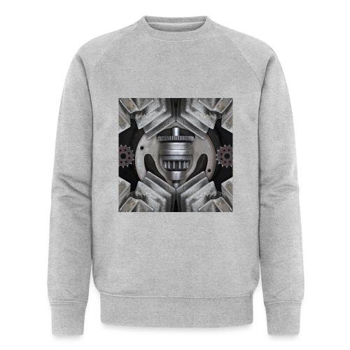 metalen motor onderdelen - Mannen bio sweatshirt