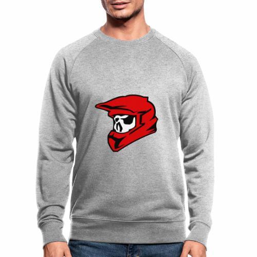 Schaedel Motocross - Männer Bio-Sweatshirt