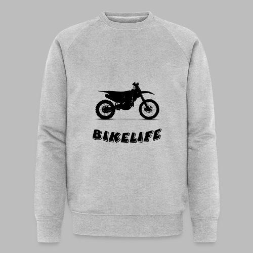 Bikelife - Ekologisk sweatshirt herr från Stanley & Stella