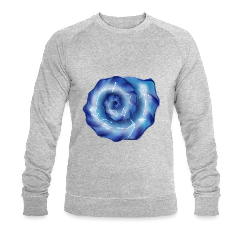 Galaktische Spiralenmuschel! - Männer Bio-Sweatshirt
