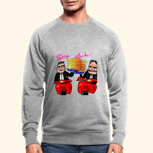 Pizza Club - Mannen bio sweatshirt
