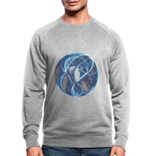 Winde des Herzens 10051ice - Männer Bio-Sweatshirt