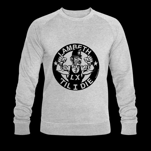 LAMBETH - BLACK - Men's Organic Sweatshirt