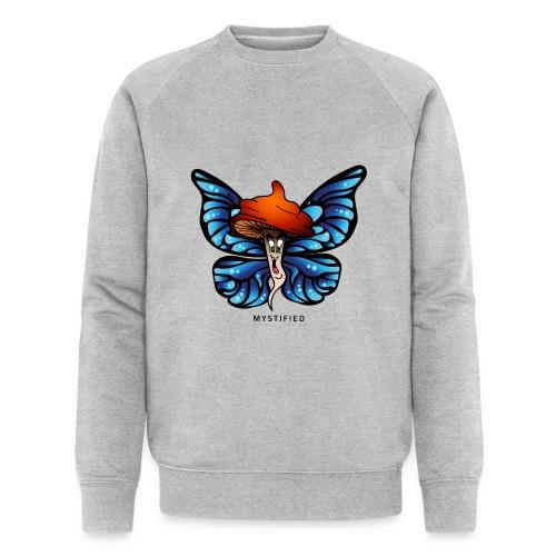 Mystified Butterfly - Mannen bio sweatshirt