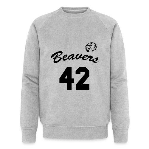 Beavers front - Mannen bio sweatshirt van Stanley & Stella