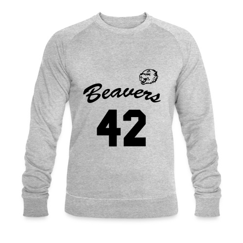Beavers front - Mannen bio sweatshirt
