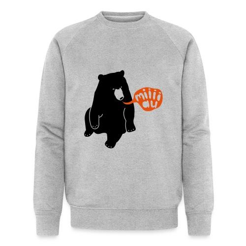 Bär sagt Miau - Männer Bio-Sweatshirt von Stanley & Stella