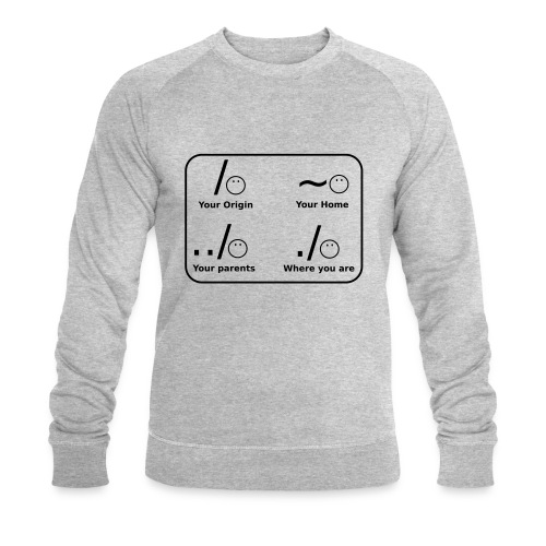 (slash_spreadshirt) - Männer Bio-Sweatshirt von Stanley & Stella