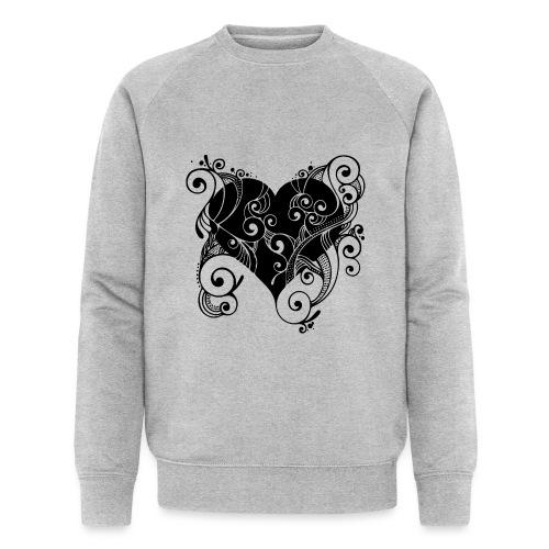 Isle of Heart Petal - Men's Organic Sweatshirt by Stanley & Stella