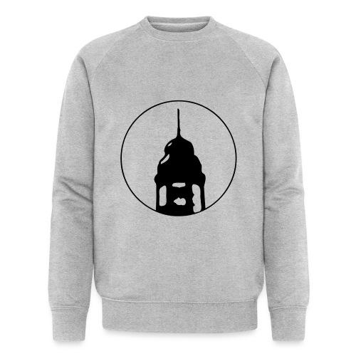 Neckarstadtblog Logo - Männer Bio-Sweatshirt