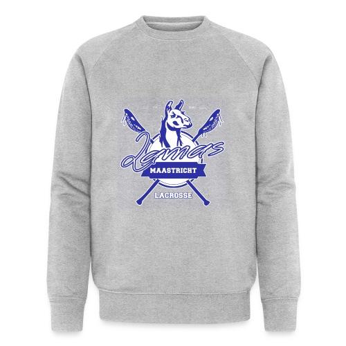 Llamas - Maastricht Lacrosse - Blauw - Mannen bio sweatshirt van Stanley & Stella