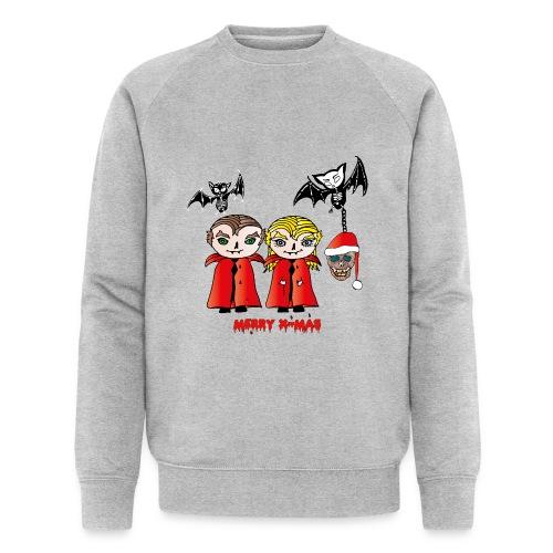 Frohe Weihnachten - Männer Bio-Sweatshirt