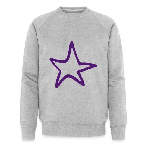 Star Outline Pixellamb - Männer Bio-Sweatshirt von Stanley & Stella